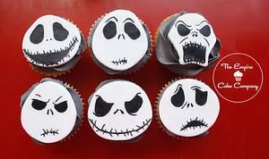 Jack Skellington cupcakes - Cake by The Empire Cake Company