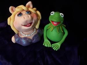 I Love the Muppets - Cake by Elizabeth Miles Cake Design