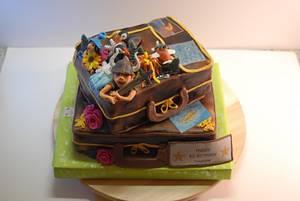 Iceland Birthdaycake - Cake by Aurelia'sTartArt