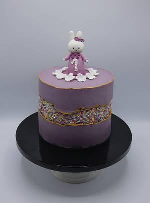 Fault line cake  - Cake by Olina Wolfs