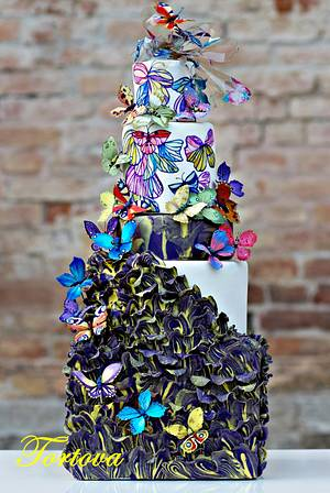 Couture Cakers Collaboration - Cake by Anna