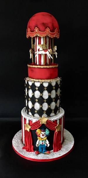 Vintage circus cake - Cake by Delice
