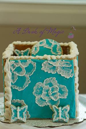 Cookie box - Cake by A Dash of Magic