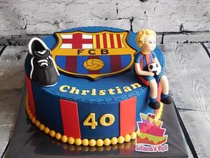 Barcelona cake - Cake by Liliana Vega