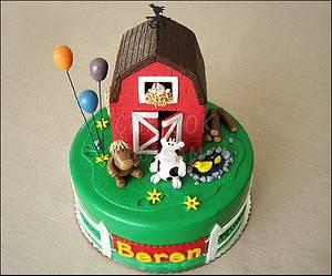 Farm Life ! - Cake by cokcokdoysam