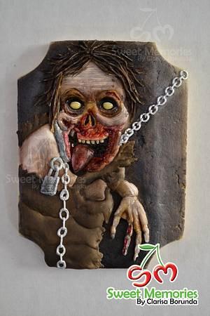 Zombie Cookie - Cake by Clarisa Borunda