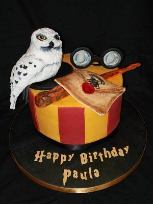 Harry Potters Hedwig - Cake by Sharon Fitzgerald @ Bitchin' Bakes