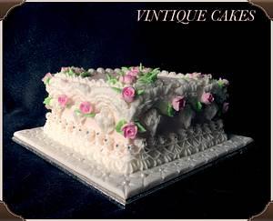 Victorian lambeth style cake - Cake by Vintique Cakes (Anita)