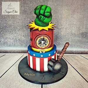 x Avengers Birthday Cake x - Cake by Sugar Chic