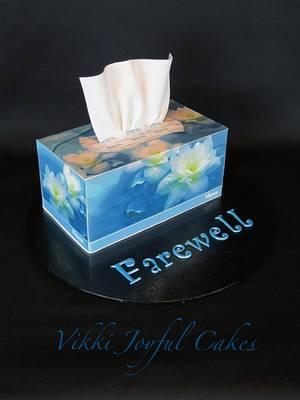 Farewell cake & photo tutorial - Cake by Vikki Joyful Cakes