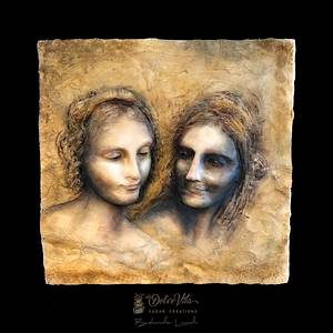 "...inspired by ""Il Cartone di Sant'Anna"" (Leonardo Da Vinci) - Cake by AppoBli Belinda Lucidi"