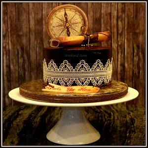 Vintage Travel Cake - Cake by Weekend Oven by Leena
