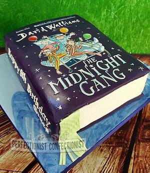 Grace - The Midnight Gang Birthday Cake Book  - Cake by Niamh Geraghty, Perfectionist Confectionist