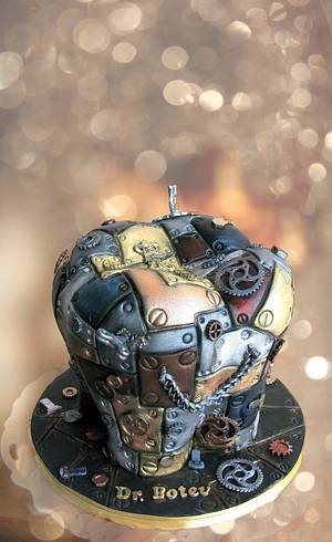 Steampunk tooth....dentists gone wild - Cake by Delice