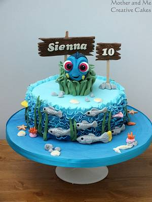 Dory cake - Cake by Mother and Me Creative Cakes