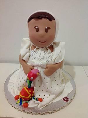 Tarta bautizo  - Cake by Ana