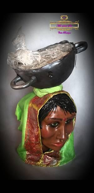 #ShriLanka #collaboration - Cake by MisdulcesSisi