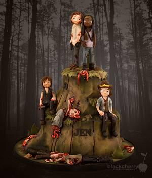 The Walking Dead Cake - Cake by Little Cherry