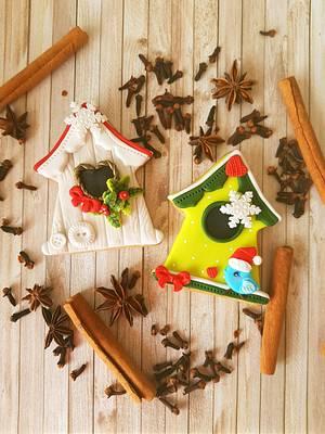 Christmas cookies by DI ART  - Cake by DI ART