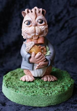 Mr Chipmunk - Cake by Emilyrose