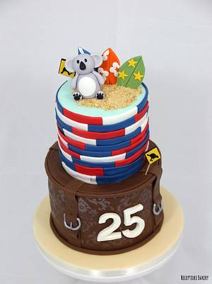 Australia cake - Cake by Sandra - Receptidee Bakery