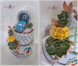 Birthday cake for man - Cake by Tortolandia