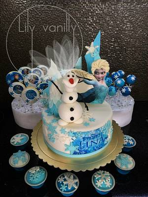 """Frozen"" Birthday Cake - Cake by Lily Vanilly"