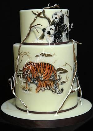 China Wildlife - Cake by Cosette