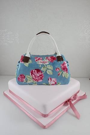 Cath Kidston Handbag cake - Cake by The Fairy Cakery