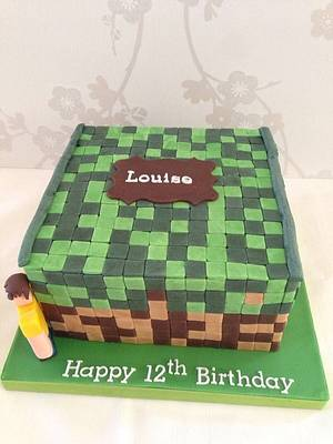 Minecraft - Cake by Mimi's Sweet Treats