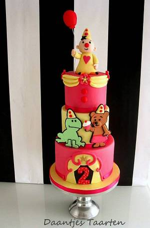 Bumba and friends - Cake by Daantje