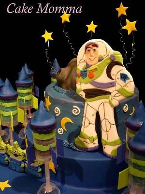 Toy Story - with stars inside! - Cake by cakemomma1979