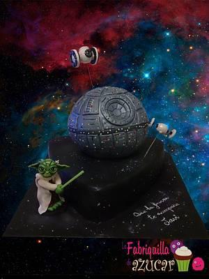 Star Wars - Cake by Fabriquilla de Azucar
