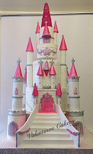 Fairytale castle cake - Cake by Carter Valentino Ltd