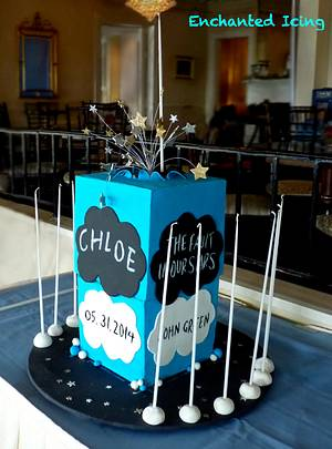 The Fault in Our Stars Cake - Cake by Enchanted Icing