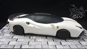 Ferrari 488GTB  - Cake by GoshCakes