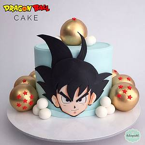 Torta Dragon Ball Medellín - Cake by Dulcepastel.com