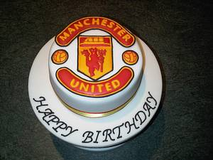 Manchester United Football cake - Cake by Cake Love