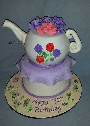 Tea Time - Cake by lilforgetcakes