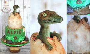 Jurassic park  - Cake by Sylwia