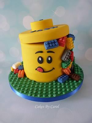Lego Box Cake - Cake by Carol