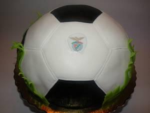 Football - Cake by bolosdocesecompotas