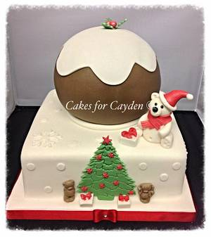 Christmas Pudding  - Cake by Nichola
