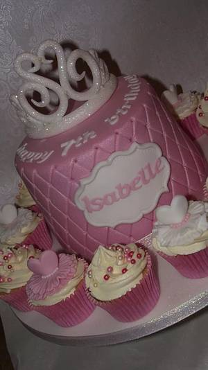 princess in pink  - Cake by Cakey Barmy