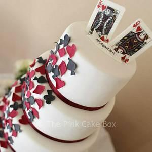 Vegas Themed Wedding Cake - Cake by Rose