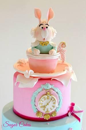 Alice in Wonderland... Baby Fantasy - Cake by Sugar Cakes