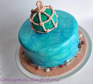 Sea Glass Cake - Cake by Jessica