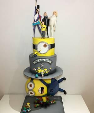 minions 3 cake - Cake by Tuba Fırat