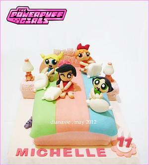 Powerpuff Girls - Cake by Diana