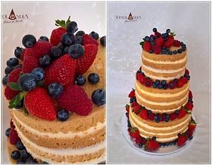 Naked cake & Fresh fruits - Cake by Tortolandia